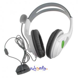 XBOX 360 LIVE Hodetelefoner med mikrofon