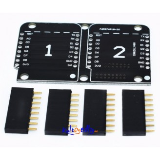 Dobbel Base Plate Shield for Wemos D1 Mini ESP8266