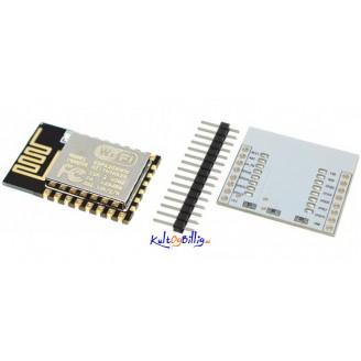 ESP8266 ESP-12E + Adapter Plate kombo