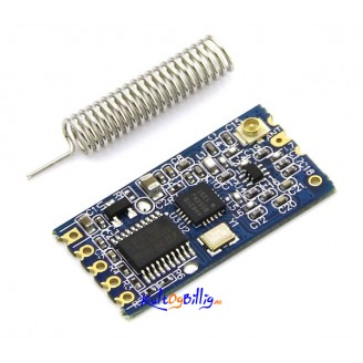 HC-12 433MHz SI4463 Wireless Serial Module Remote 1000M W/ Antenna