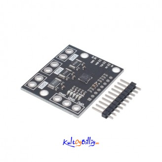 INA3221 Current and Voltage Sensor, Triple-Channel Module, High-Side Measurement, Shunt and Bus Voltage Monitor with I2C- and SMBUS-Compatible Interface