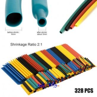 Krympeslange-328-stk-8-storrelser-Heat-Shrink-Tube