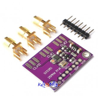 Signal Generator 8KHz To 160MHz 3-5VDC For Arduino IDE 5351 Si5351A Si5351 I2C