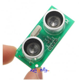 US-100 DC 5V Ultrasonisk Avstands Sensor Modul Med Temperature Kompensasjon For Arduino m.m
