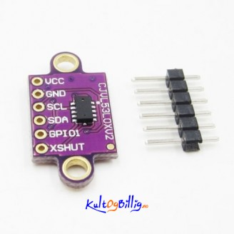 VL53L0X Time-of-Flight Distance Sensor Breakout VL53L0XV2 Module for Arduino
