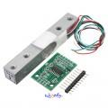 Vekt Sensor med A/D HX711AD Adapter kort (1/5/20KG) - Load Cell Sensor