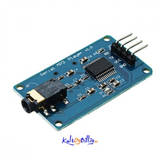 YX5300 MP3 Player Module Voice Serial Port Control Module With TF Card Slot