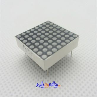 8x8 Mini Dot Matrix LED Display Red Common Anode Digital Tube 16-pin 20mmx20mm 1.9mm