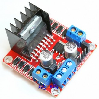 L298N Motor Driver Modul for DC & Stepper Motors (2-Port)