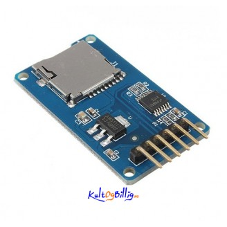 Micro SD card mini TF card reader SPI with level converter chip