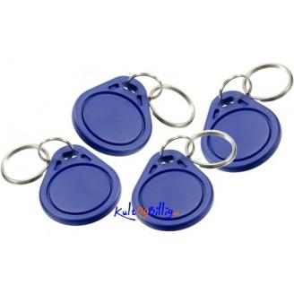 RFID IC Key Tags Keyfobs Token NFC TAG 13.56MHz (4 stk.)