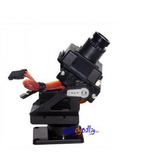 To-aksers kamera gimbal / stativ. Brukes sammen med to sg90 servo-motorer