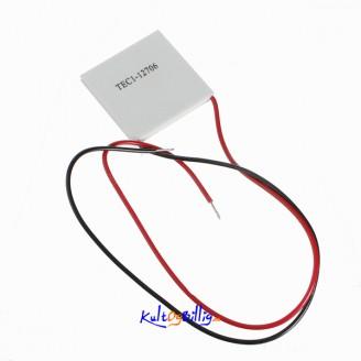 TEC1-12706 12v 6A TEC Termoelektrisk Kjøler Peltier - Thermoelectric Cooler
