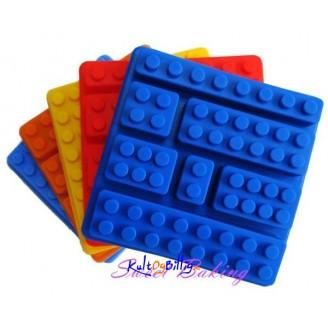 Silikonform - Motiv av Legobrikker