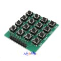 4x4 16-Knappers Matrix Keypad Keyboard Modul For Arduino