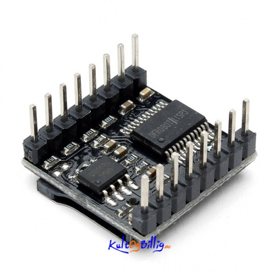 Dfplayer mini mp spiller for arduino