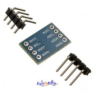 I2C IIC Konverterings Modul 5V - 3V System Arduino Kompatibel - Logic Level Converter