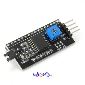 IIC/I2C/TWI/SP Serial Interface Modul Port For 5V Arduino 1602LCD 2004 LCD