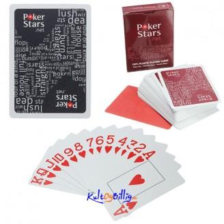 Poker Spille Kort Plast