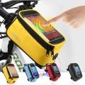 Praktisk Sykkelveske med plass til mobilen. Leveres i forskjellige størrelser/ farger