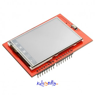 """2.4"""" TFT LCD Shield Touch Skjerm Modul For Arduino UNO"""