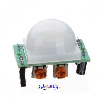 Mini IR Pyroelektrisk Infrarød PIR Bevegelses Sensor Modul