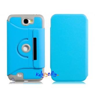 Deksel til Samsung Note 2/N7100 (Lys blå)