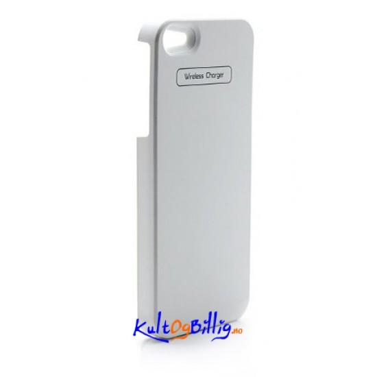 Qi Induktivt lade deksel for trådløs lading. For iPhone 5