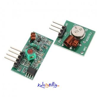 433Mhz RF sender og  mottaker for Arduino ARM MCU Wireless