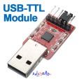 USB Til TTL / COM konverter Modul basert på CP2102