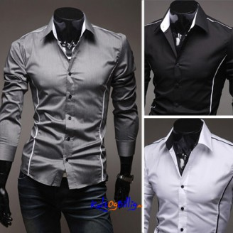 Elegant slim fit skjorte