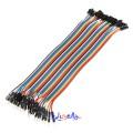 40 stk. 20cm Han til Hunn Jumper kabel (for bl.a. Arduino)