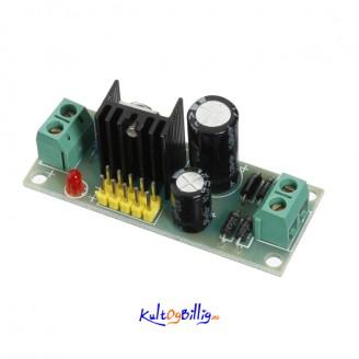 L7805 LM7805 Tre Terminals Spennings Regulator Modul For Arduino