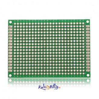 Prototype-kort Dobbelsidig PCB Stripboard (mange størrelser)