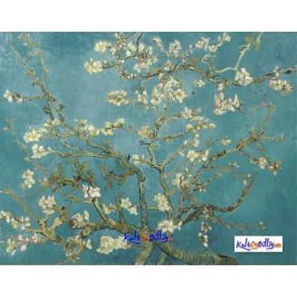 "Lerrets-trykk Vincent van Gogh  - ""Blossom of the Almond Tree"""