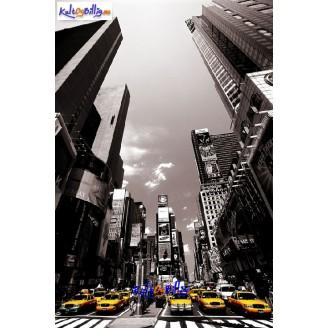 Lerrets-trykk - New York cityscape