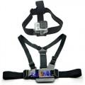 GoPro Kombipakke - Sele for å feste kamera på overkroppen + Hodebånd med feste for GoPro 1 2 3
