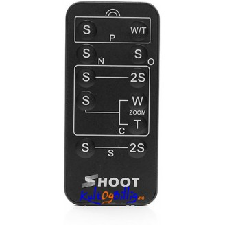 Fem-i-én multifunksjons trådløs fjernkontroll for Canon/ Nikon/ Sony Pentax/ Olympus