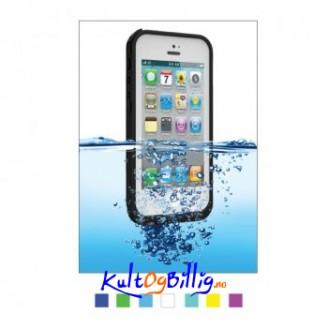 Vanntett deksel for iPhone 5. Tynt og elegant.