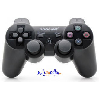 GOIGAME Oppladbar Bluetooth Trådløs DoubleShock III Controller for PS3