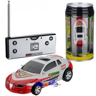 Bil-På-Boks -  Morsom fjernstyrt mini racerbil