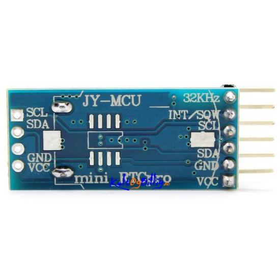 Jy mcu mini rtcpro ds arduino precision clock module w